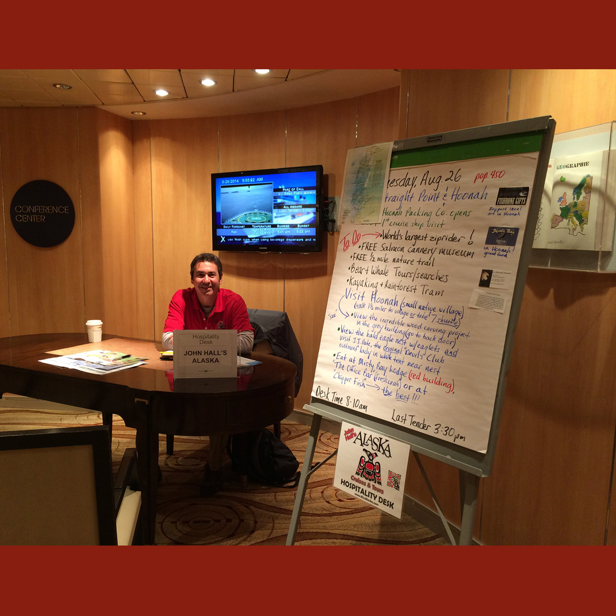 Cruise Manager, John Hall's Alaska